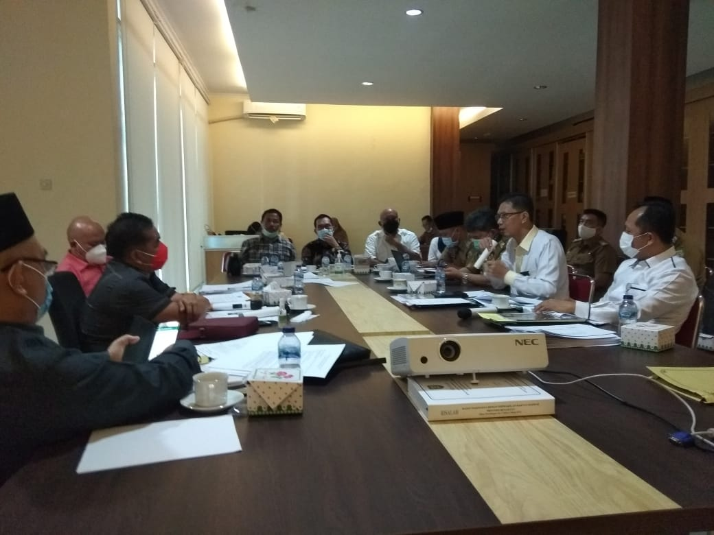 Pansus DPRD Provinsi Bengkulu bersama Pimpinan PT Bimex Bengkulu